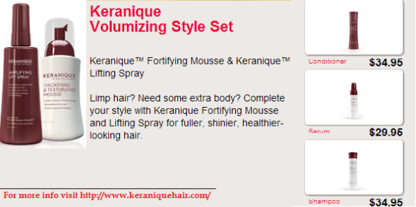Keranique Thicker Fuller Hair Kit