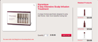 Keranqiue 8 Day Intensive Scalp Infusion Treatment
