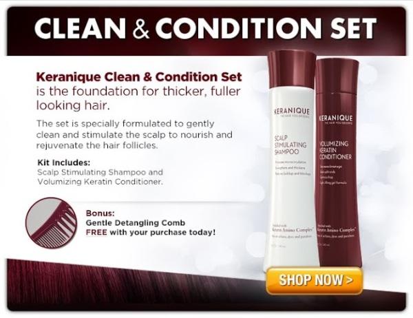 keranique hair care